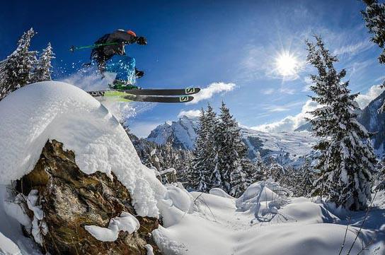 domaine skiable de la clusaz